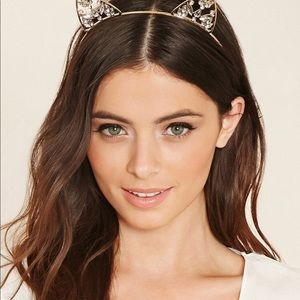 Accessories - 👻 CAN SHIP TODAY! Rhinestone Cat Ears